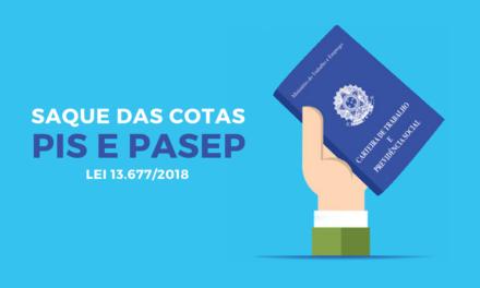 Eu Tenho Direito ao Saque das Cotas PIS/PASEP? [Lei 13.677/0218]
